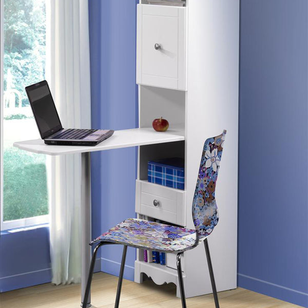 Mattress to My Door Pixie Bookcase Desk - White
