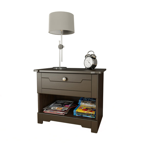 Mattress to My Door Haxby Nightstand - Espresso