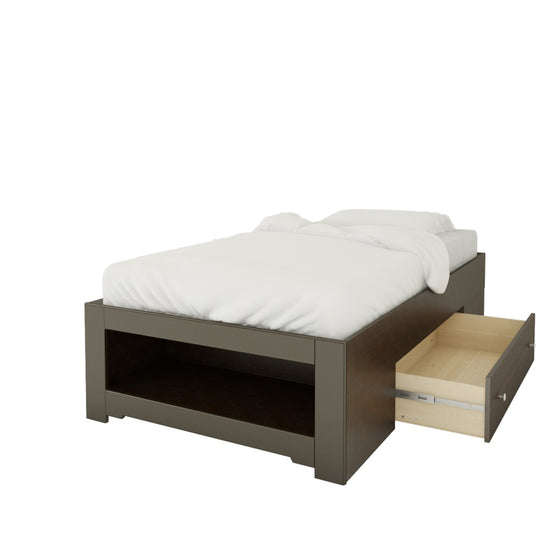 Mattress to My Door Haxby Storage Bed - Espresso