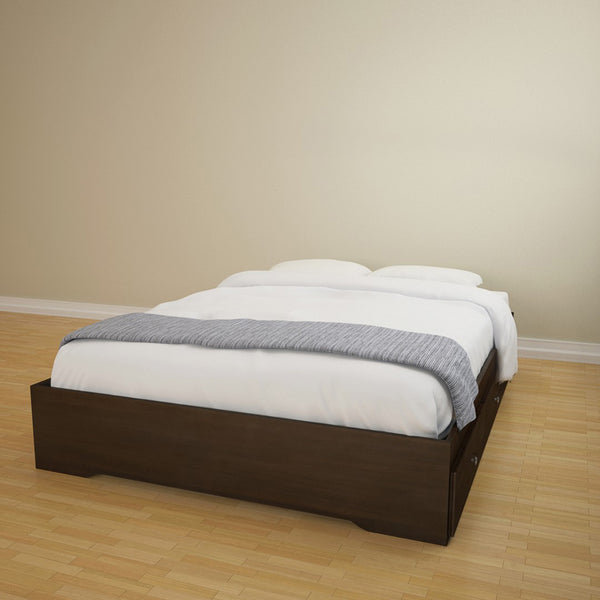Torrox Storage Bed - Espresso