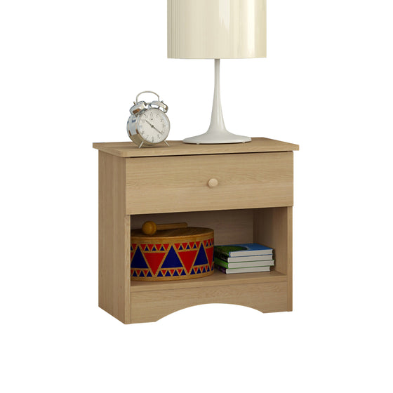 Alora Nightstand - Natural Maple
