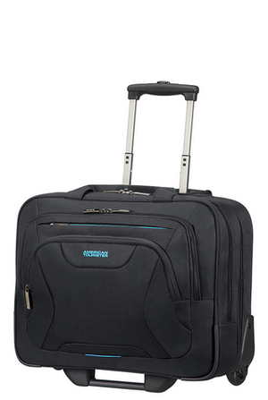 "American Tourister At Work 24 timers lett Pc Kabin Koffert 15/16"" Sort"