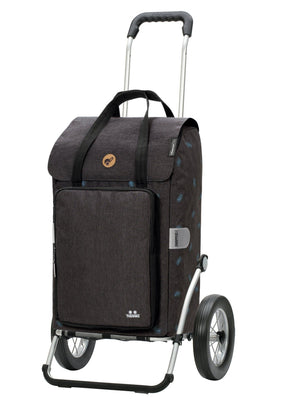 Andersen Royal Shopper Ivar Trillebag 44 Liter 3,6 kg Thermo Antrasitt-Bagger-BagBrokers