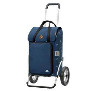 Andersen Royal Shopper Ivar Trillebag 44 Liter 3,6 kg Thermo Blå-Bagger-BagBrokers
