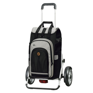 Andersen Royal Shopper Plus Hydro 2.0 Trillebag 60 Liter 5 kg Svart-Trillevogn-BagBrokers