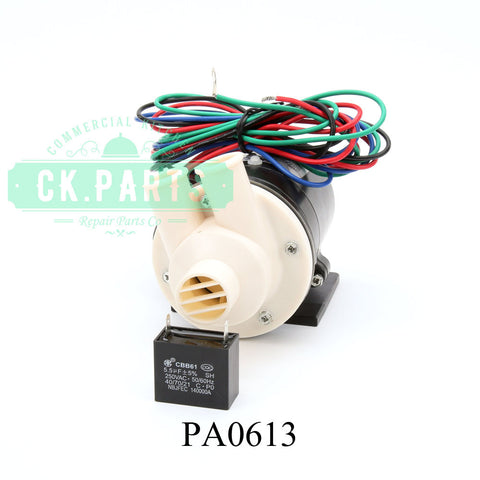 Hoshizaki PA0613 Pump Motor Assembly Free Shipping - Lowest Price -In Stock **Call for Free UPS Shipping**
