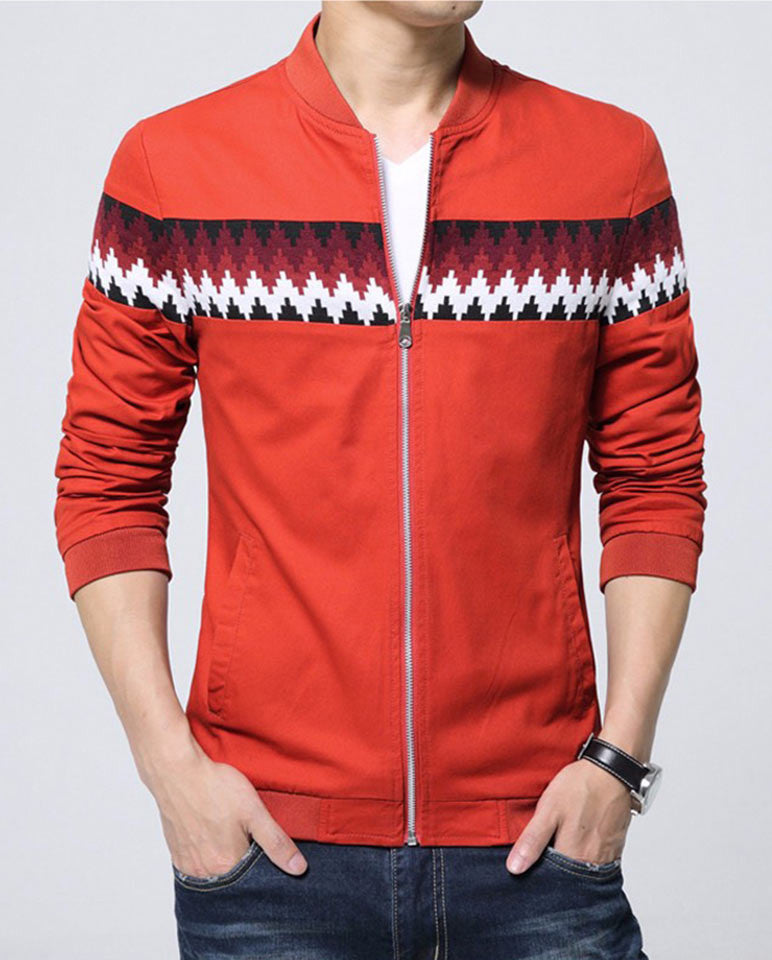Style Dome Men's Solid Red Color
