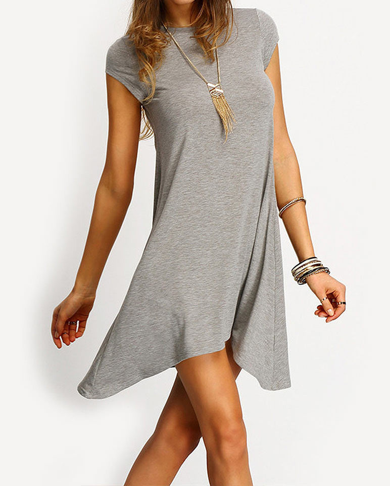 Midi Sleeve Tunic dress