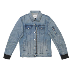 THE STARLIGHT DENIM BOMBER JACKET 279-450