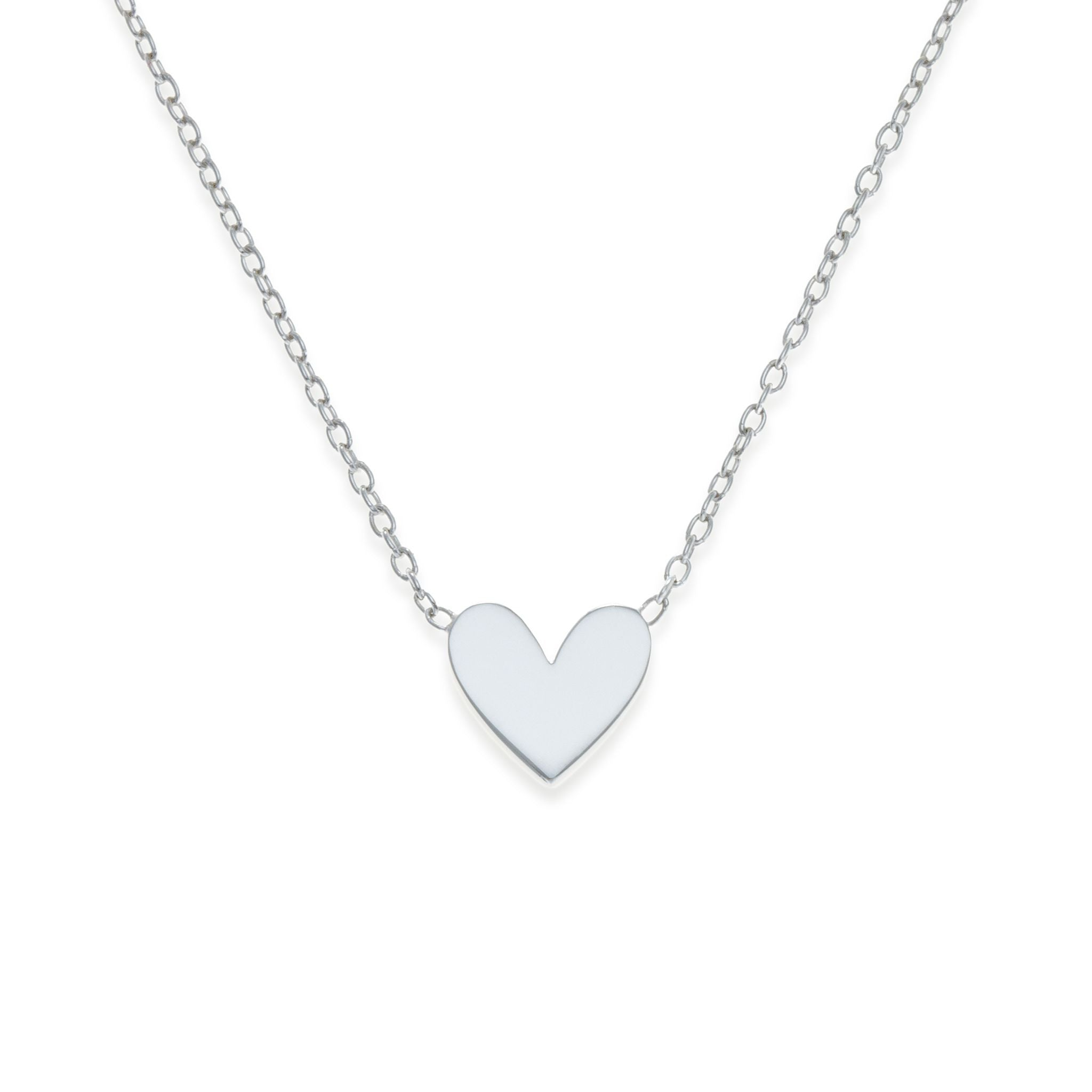 Sterling silver heart necklace mother daughter jewelry kith sterling silver heart necklace mother daughter jewelry kith kin mini me aloadofball Images
