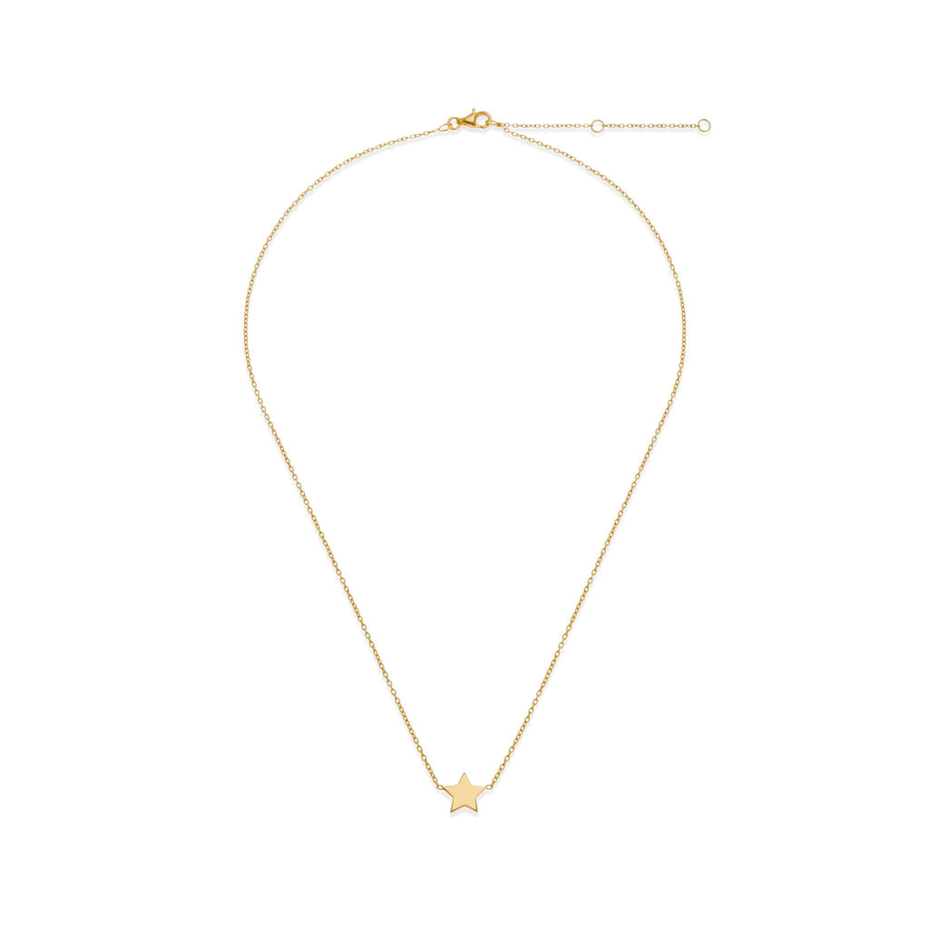 18K Gold Star Necklace | Mother-Daughter Jewelry | Kith & Kin | Mini Me Collection