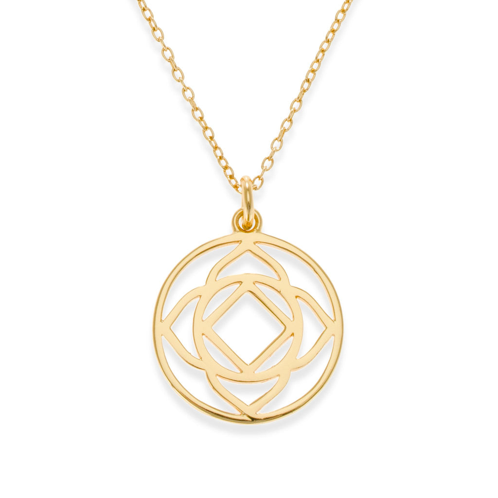18K Gold Plated Base Chakra Necklace | Kith & Kin | Spiritual Collection