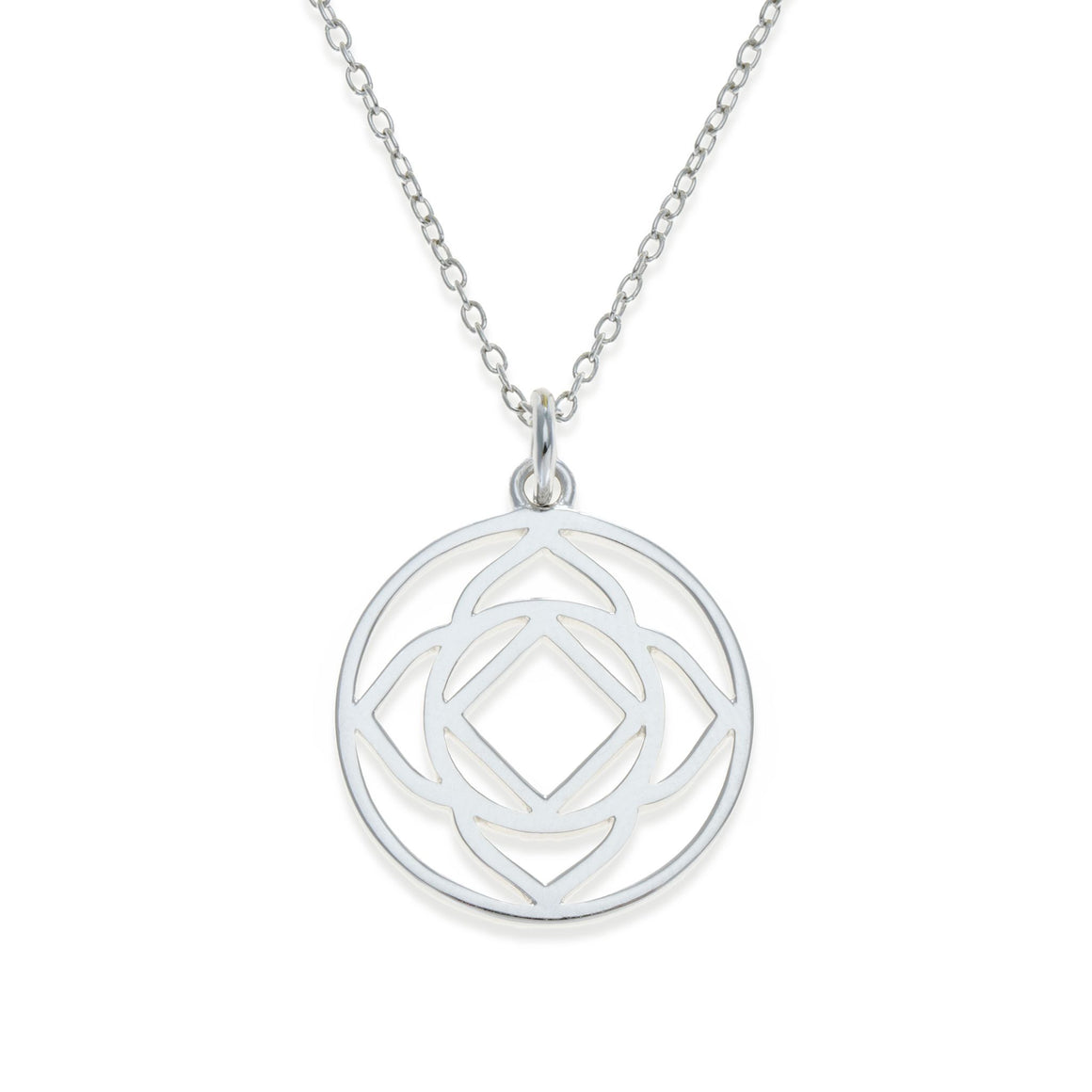 Sterling Silver Base Chakra Necklace | Kith & Kin | Spiritual Collection