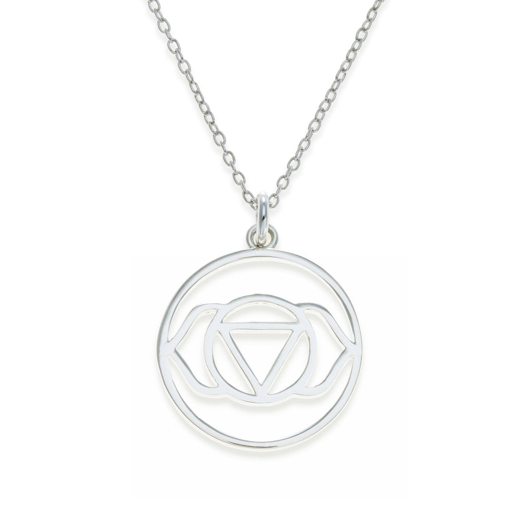 Sterling Silver Brow Chakra Necklace | Kith & Kin | Spiritual Collection