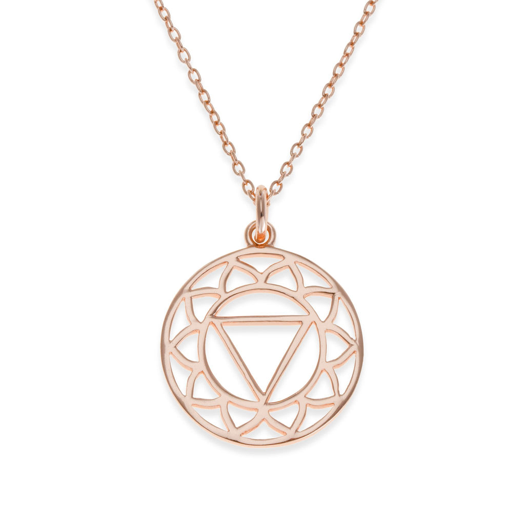 18K Rose Gold Plated Solar Plexus Chakra Necklace | Kith & Kin | Spiritual Collection