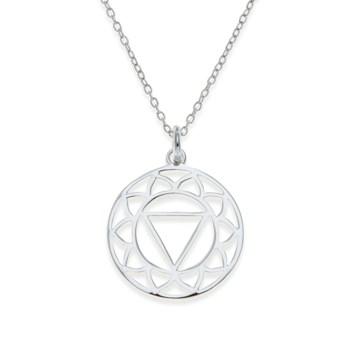 Sterling Silver Solar Plexus Chakra Necklace | Kith & Kin | Spiritual Collection