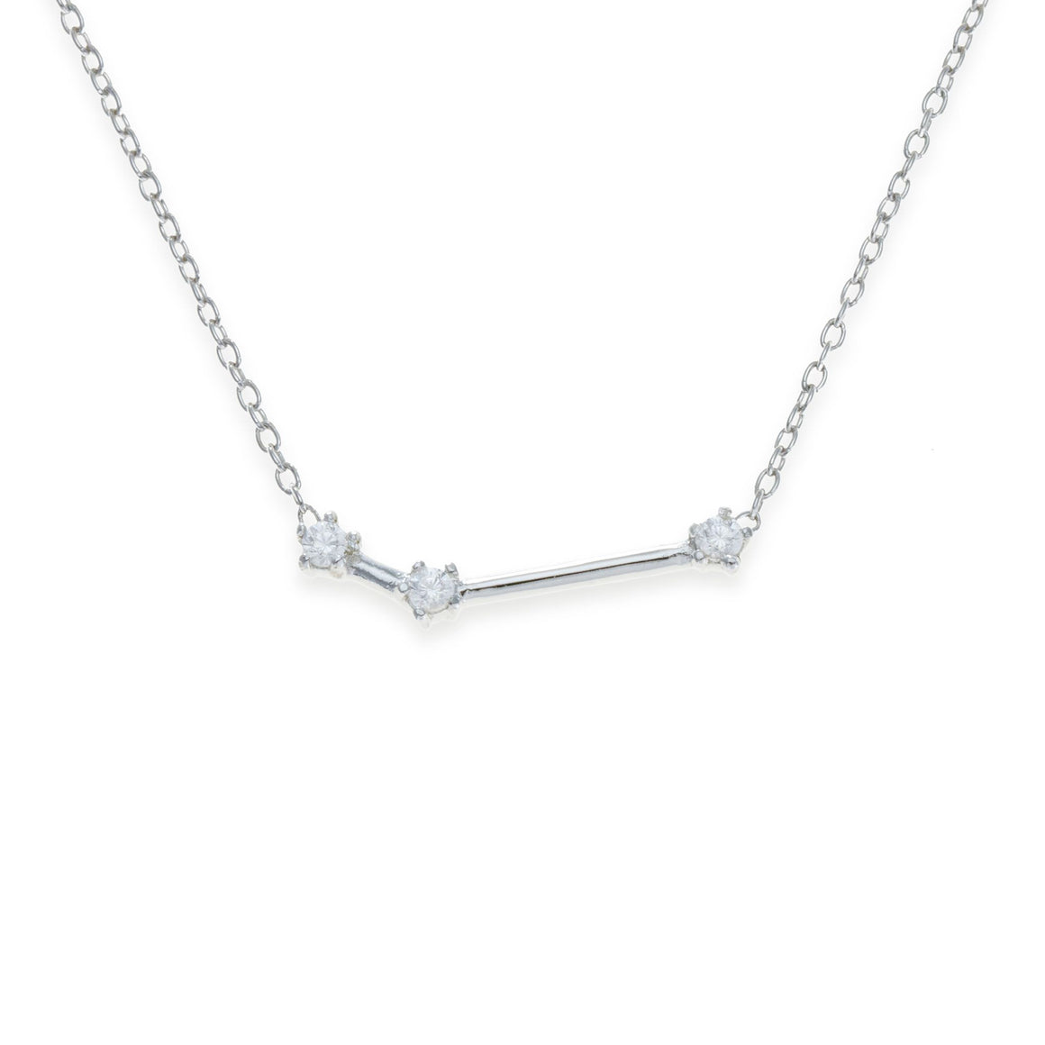 Sterling Silver Aries Necklace | Kith & Kin | Wish Upon a Star Collection