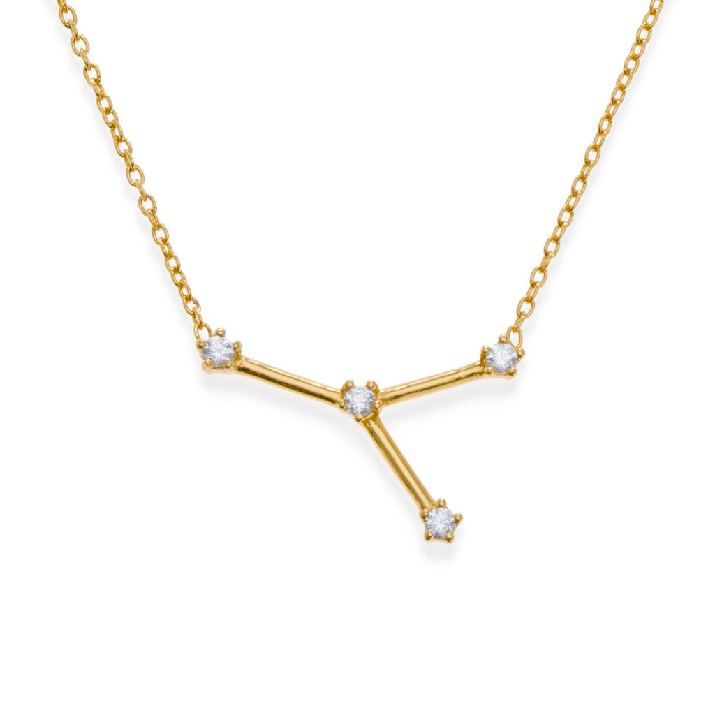 18K Gold Plated Cancer Necklace | Kith & Kin | Wish Upon a Star Collection