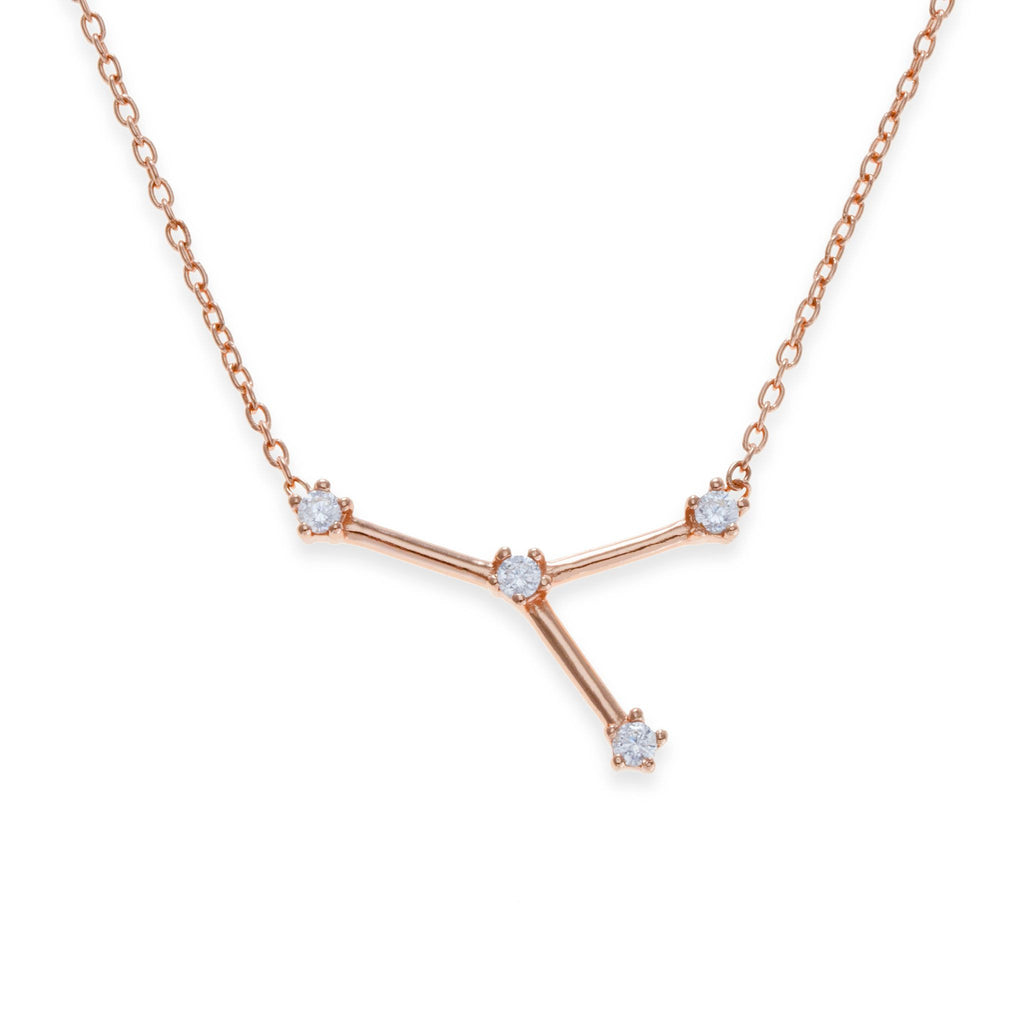 18K Rose Gold Plated Cancer Necklace | Kith & Kin | Wish Upon a Star Collection