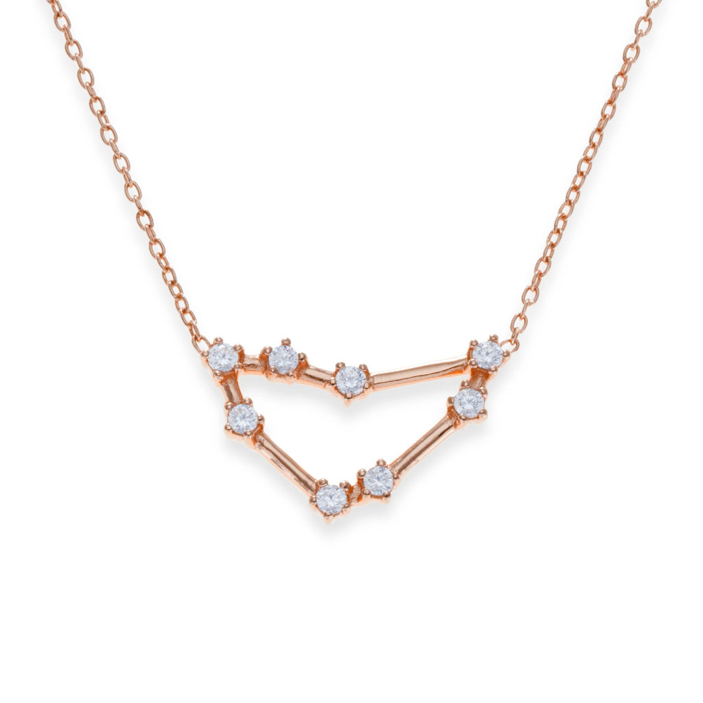 18K Rose Gold Plated Capricorn Necklace | Kith & Kin | Wish Upon a Star Collection