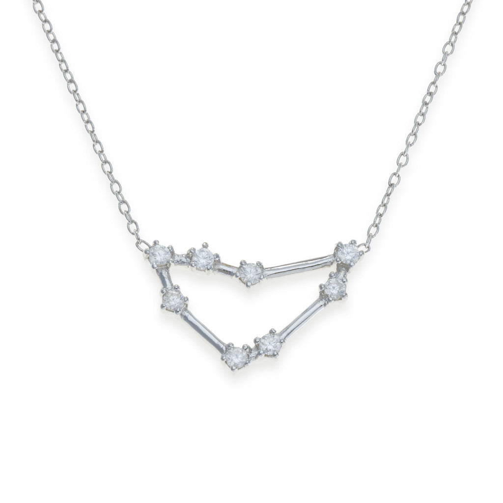 Sterling Silver Capricorn Necklace | Kith & Kin | Wish Upon a Star Collection