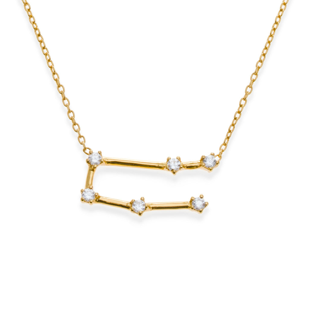 18K Gold Plated Gemini Necklace | Kith & Kin | Wish Upon a Star Collection