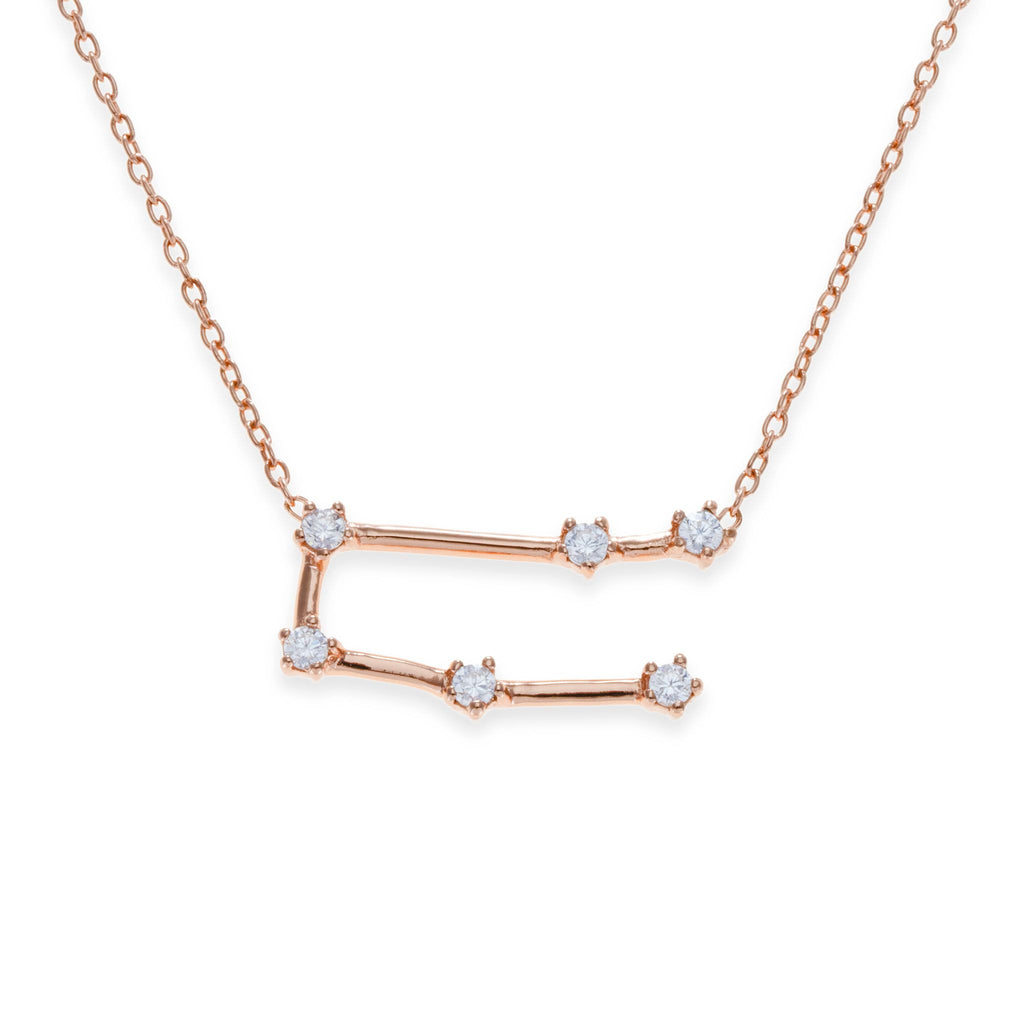 18K Rose Gold Plated Gemini Necklace | Kith & Kin | Wish Upon a Star Collection