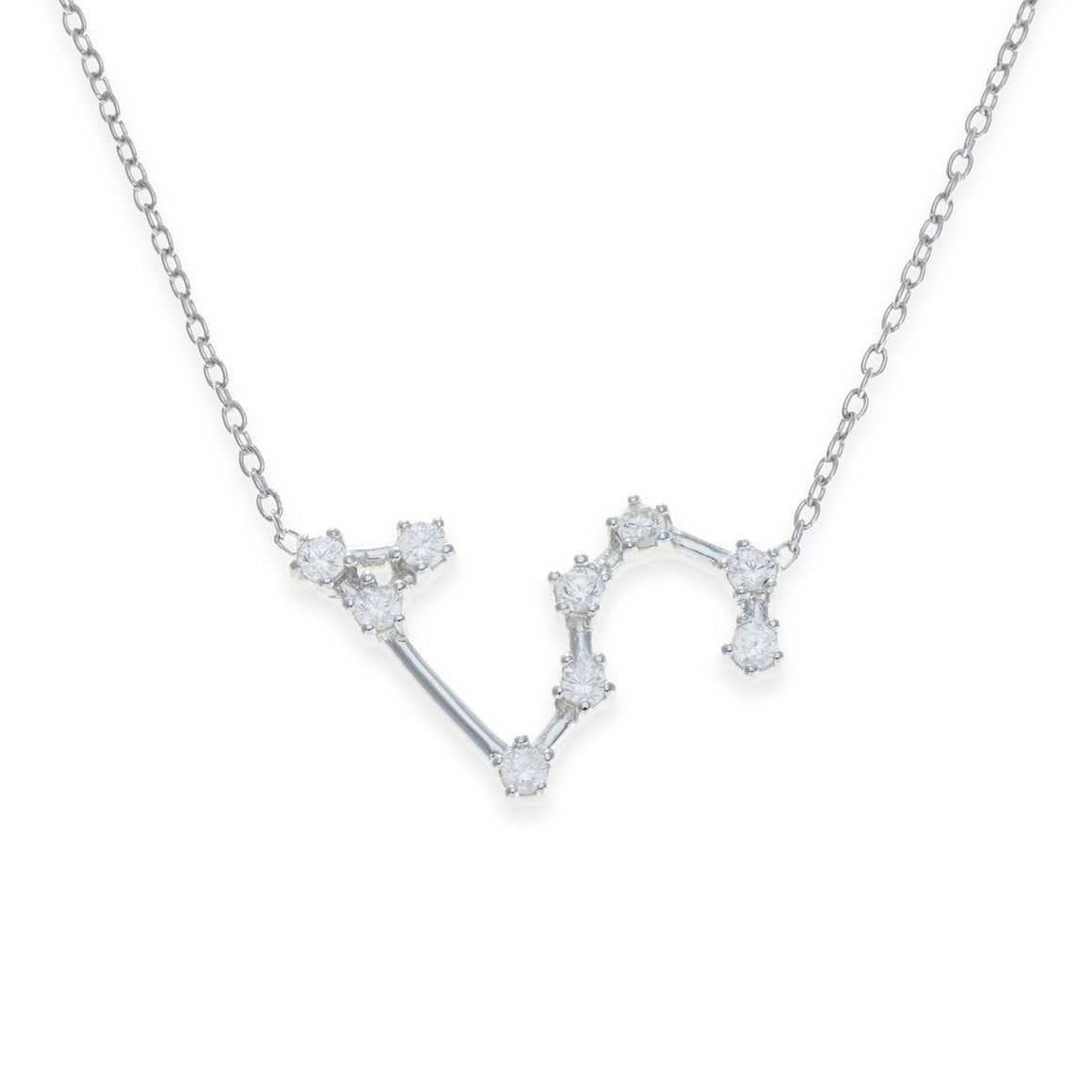 Sterling Silver Leo Necklace | Kith & Kin | Wish Upon a Star Collection