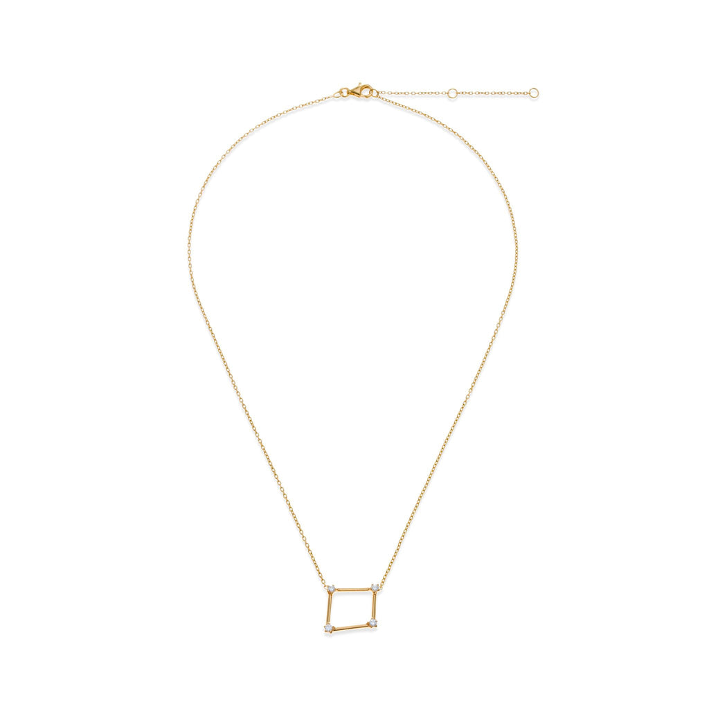 18K Gold Plated Libra Necklace | Kith & Kin | Wish Upon a Star Collection