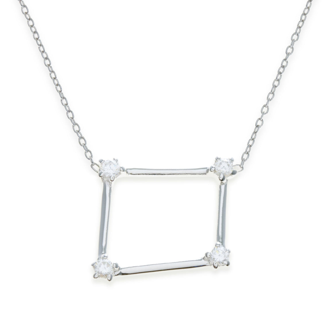 Sterling Silver Libra Necklace | Kith & Kin | Wish Upon a Star Collection
