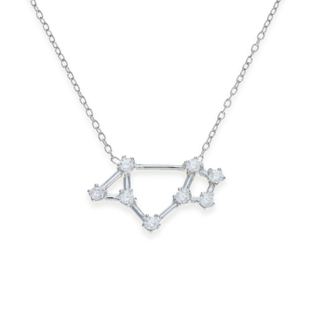 Sterling Silver Saggitarius Necklace | Kith & Kin | Wish Upon a Star Collection