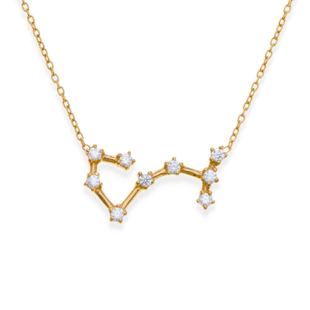 18K Gold Plated Scorpio Necklace | Kith & Kin | Wish Upon a Star Collection
