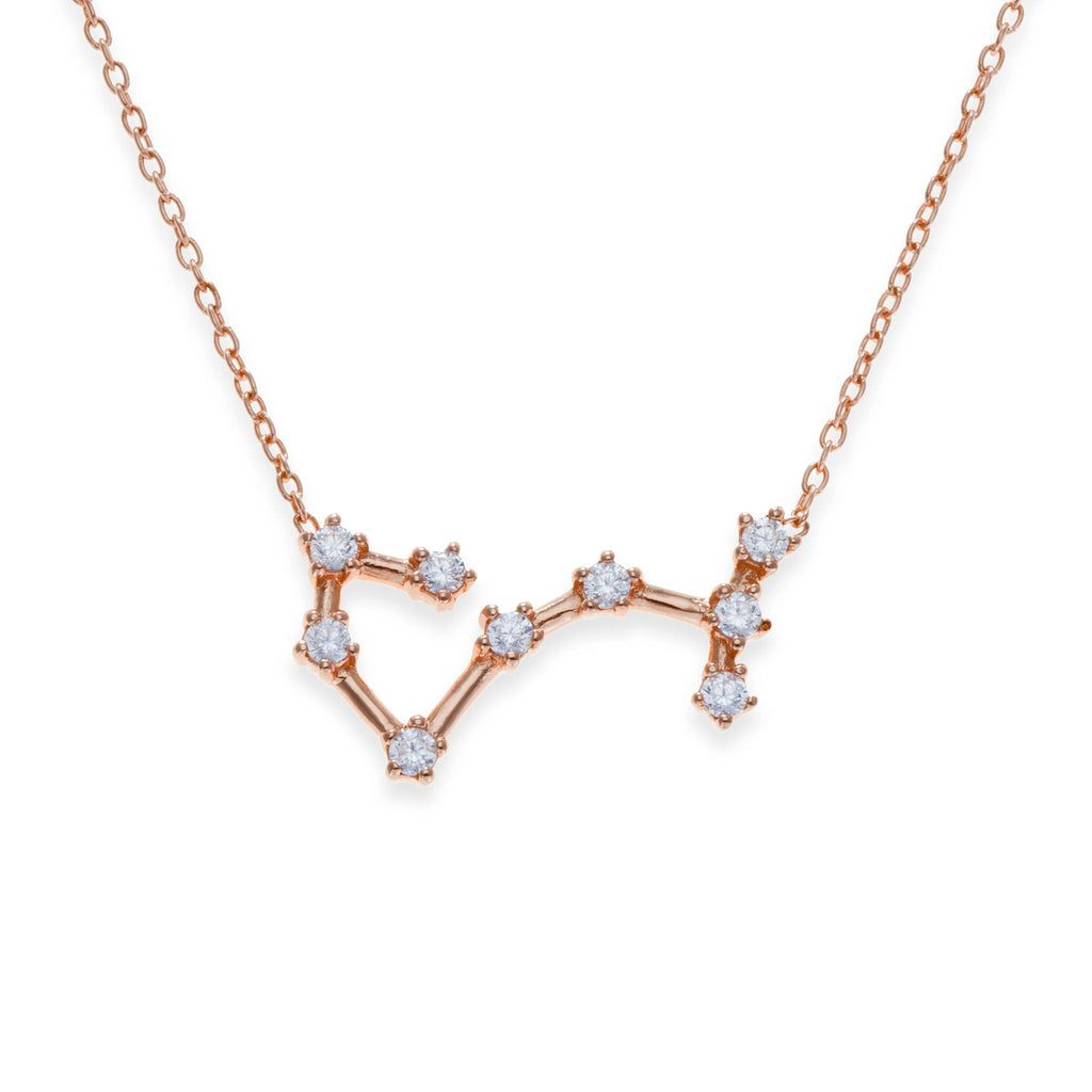 18K Rose Gold Plated Scorpio Necklace | Kith & Kin | Wish Upon a Star Collection