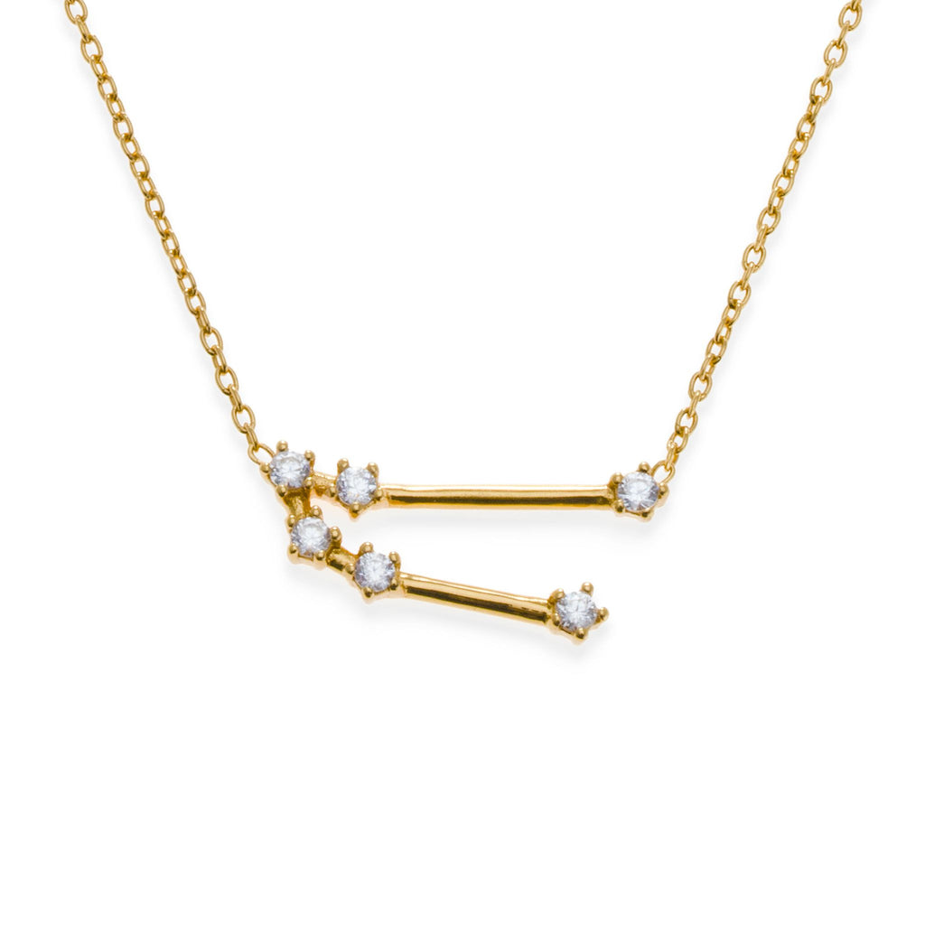 18K Gold Plated Taurus Necklace | Kith & Kin | Wish Upon a Star Collection