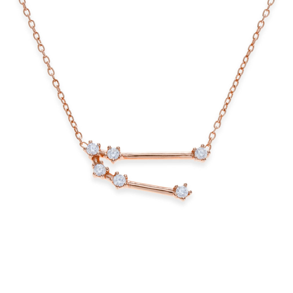 18K Rose Gold Plated Taurus Necklace | Kith & Kin | Wish Upon a Star Collection