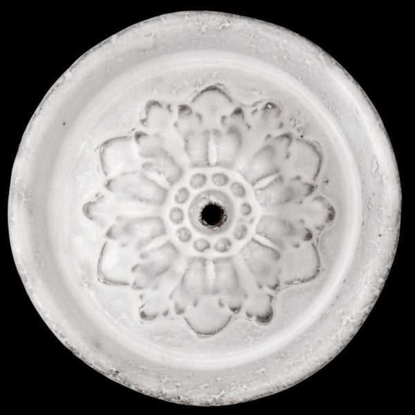 Incense Holder on Perles Saucer