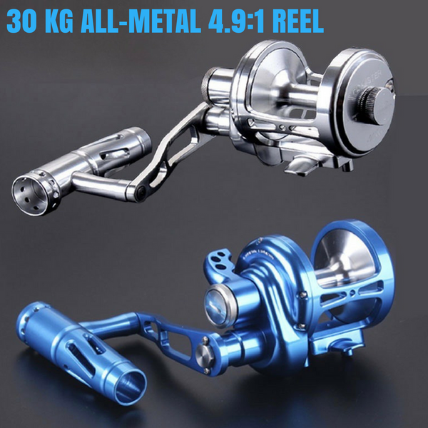 LK 9+2BB 30KG ALL METAL OVERHEAD JIGGING REEL
