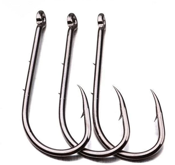50 Baitholders Hooks Gunmetal Color