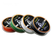 4 WEAVES SUPER STRONG BRAIDED FISHING LINE 4.5-31.7kg (10-70lb) 100m - groovy-grabz