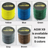 9X Weaves Super Strong Braided Fishing PE Line, 8-36kg (15-80lb), 500m (546 yards)