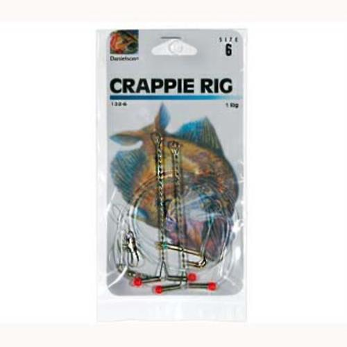Danielson Crappie Rigs 12ct #2-0 DWO - groovy-grabz