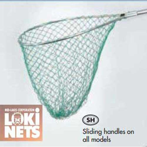 Mid Lakes Retractable Landing Net 29x33 - groovy-grabz