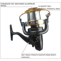9000 Series Big Fishing Reel 12+1BB G-Ratio 4.11:1
