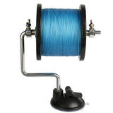 """E-Z SPOOL"" PORTABLE ALUMINUM FISHING LINE SPOOLER"
