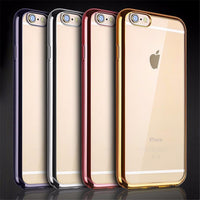 Ultra Thin Clear Silicone Case For iPhone & Samsung Galaxy S/ Note - groovy-grabz