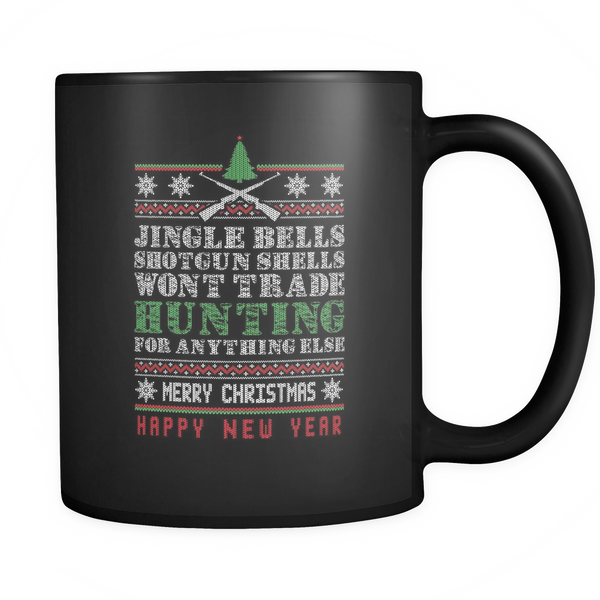 """Jingle Bells"" CUSTOM Hunting Coffee Mug"
