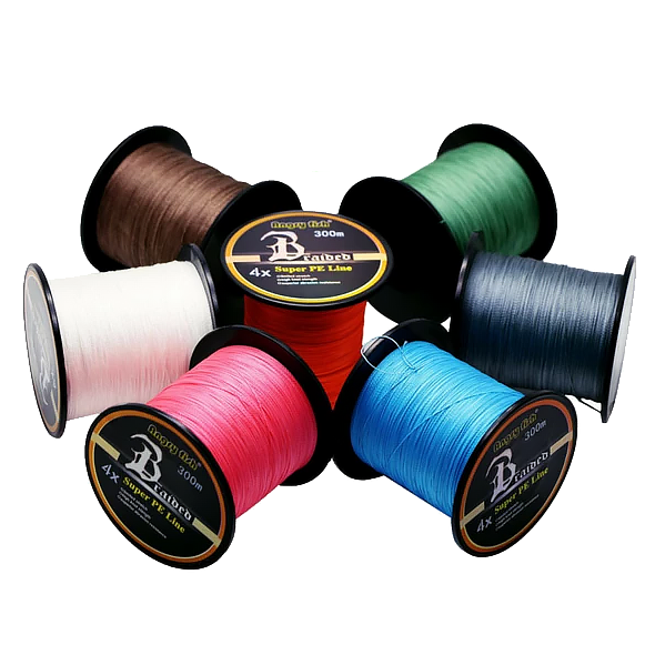4x Weaves Super Strong Braided Fishing Line 4.5-31.7kg 10-70lb 328 yards - groovy-grabz