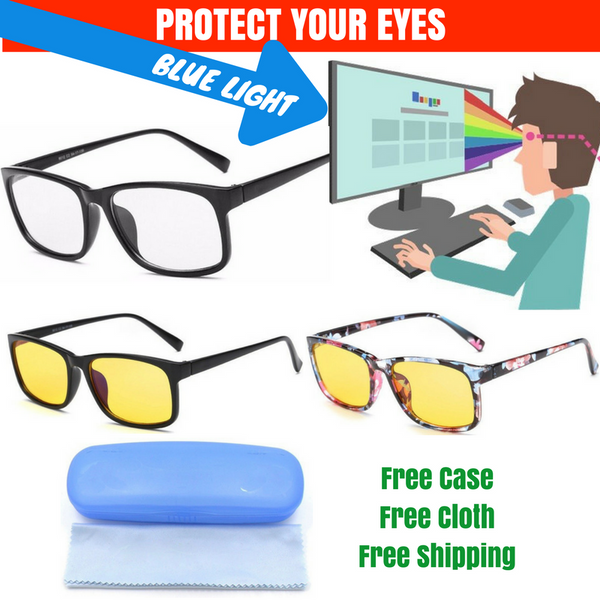 Brightzone Blue Light Blocking Full Rim Eyeglasses To Protect Your Eyes And Body