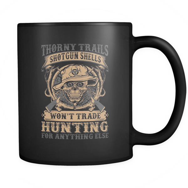 """Thorny Trails"" CUSTOM Hunting Coffee Mug"