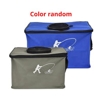 Outdoor EVA Canvas Fishing Folding Bucket - groovy-grabz
